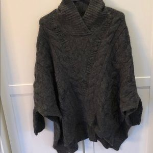 All saints poncho sweater